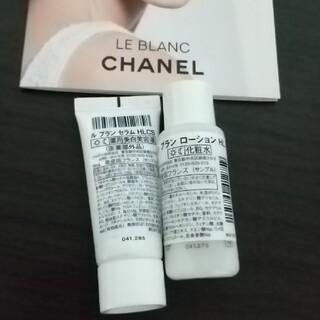 CHANEL - CHANEL☆ルブラン 美容液&化粧水