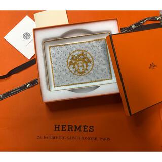 Hermes - HERMES プレート エルメス モザイク24 食器 ゴル-ド