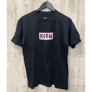 キース(KEITH)のKITH キース Tシャツ 半袖Tシャツ BLACK 黒(Tシャツ/カットソー(半袖/袖なし))