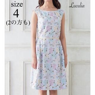 TOCCA - 2の方も 美品 TOCCA LUCULIA ワンピース 4 花柄 刺繍