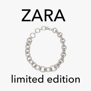 ZARA - ZARA limited edition チェーンネックレス シルバー 新品