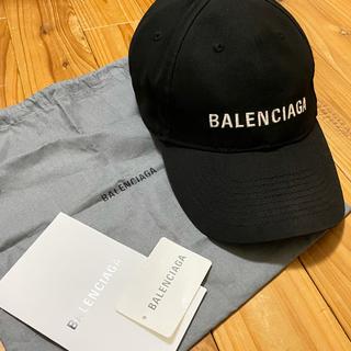 Balenciaga - BALENCIAGA バレンシアガ キャップ ブラック