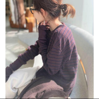 L'Appartement DEUXIEME CLASSE - GOOD GRIEF/グッドグリーフ Border Thermal Top