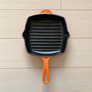 ルクルーゼ(LE CREUSET)の《値下げ》ル・クルーゼ グリルパン 20cm(鍋/フライパン)