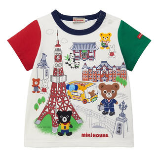 mikihouse - ミキハウス  【50周年記念】ご当地Tシャツ☆東京  130cm