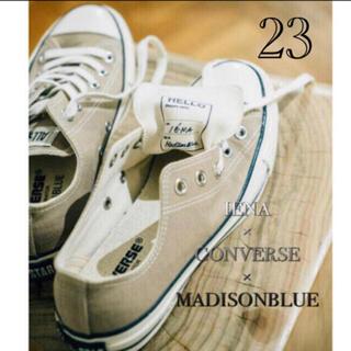 マディソンブルー(MADISONBLUE)の【CONVERSE×MADISONBLUE×IENA 】ALLSTAR 23(スニーカー)