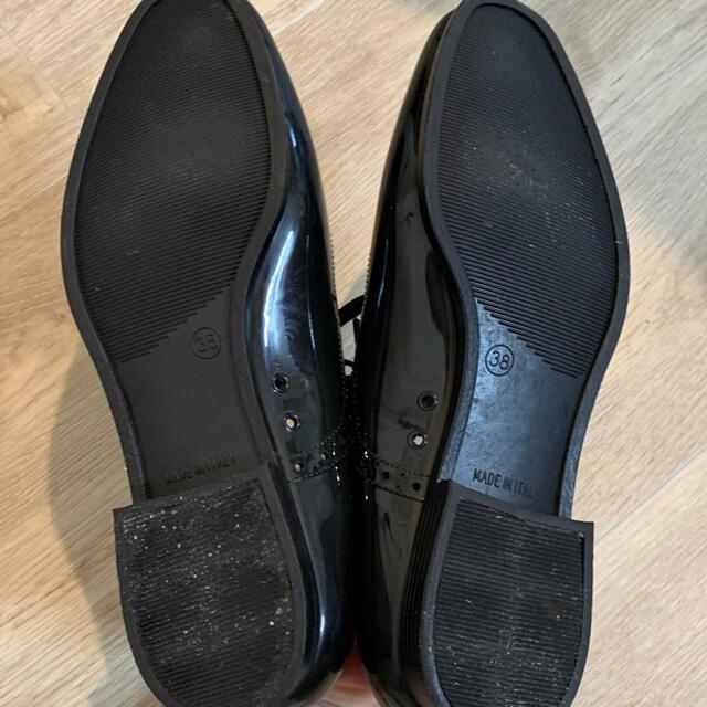 Le Talon(ルタロン)のレースアップレインシューズ レディースの靴/シューズ(ローファー/革靴)の商品写真