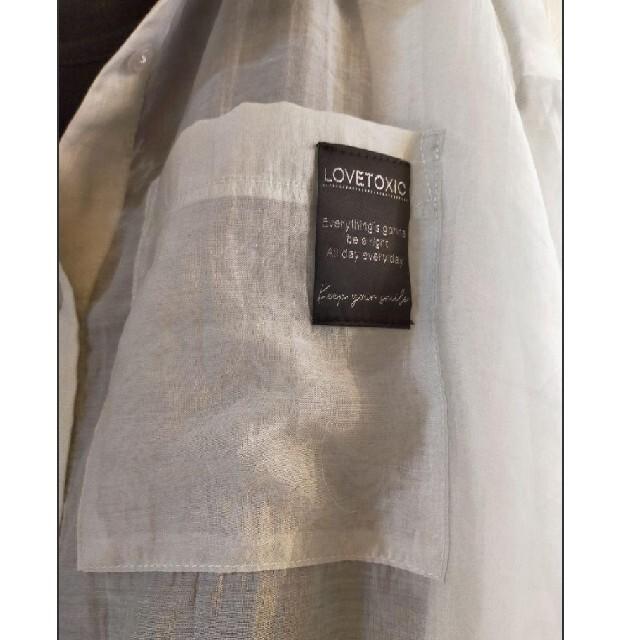 lovetoxic(ラブトキシック)の新作新品女の子シースルーシャツとタンクトップ キッズ/ベビー/マタニティのキッズ服女の子用(90cm~)(Tシャツ/カットソー)の商品写真