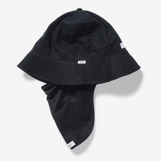W)taps - WTAPS FACEHUGGER HAT COTTON.RIPSTOP XL 黒