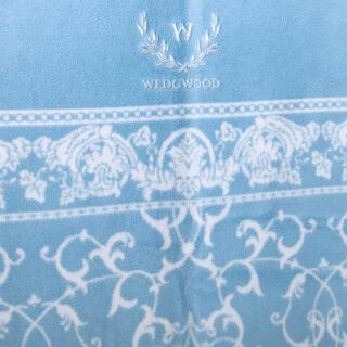 ウェッジウッド(WEDGWOOD)の綿毛布 WEDGWOOD 西川産業 日本製 綿100%  140 × 200cm(毛布)