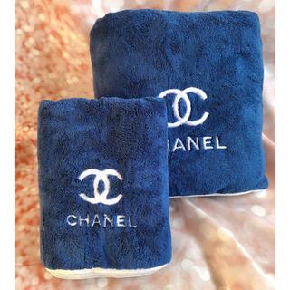 シャネル(CHANEL)の新品未使用 シャネル CHANEL ノベルティ タオル二枚セット(タオル/バス用品)