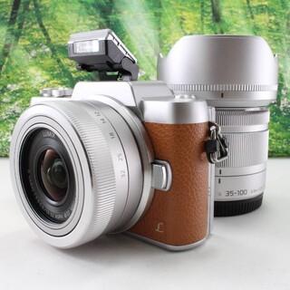 Panasonic - パナソニック ミラーレス一眼カメラ DMC-GF7ダブルズームレンズキット