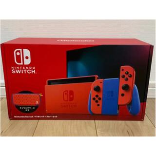 ニンテンドースイッチ(Nintendo Switch)のNintendo Switch スイッチ 本体 マリオレッド×ブルー 新品(家庭用ゲーム機本体)