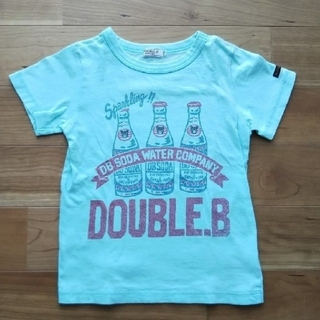 DOUBLE.B - ⭐DOUBLE.B  半袖スパークリングTシャツ 110cm