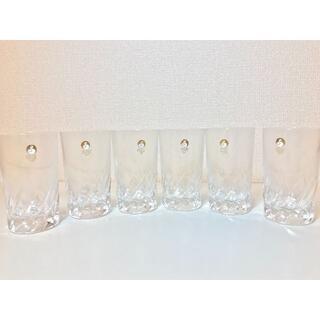 トウヨウササキガラス(東洋佐々木ガラス)のSASAKI CRYSTAL(佐々木クリスタル) タンブラー6個セット(食器)