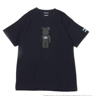アトモス(atmos)のBE@RBRICK x atmos x WIND AND SEA TEE(Tシャツ/カットソー(半袖/袖なし))