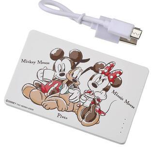 ディズニー(Disney)のディズニーストア モバイルバッテリー (バッテリー/充電器)