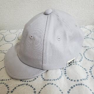 スリーコインズ(3COINS)のキッズ ツイルキャップ(帽子)
