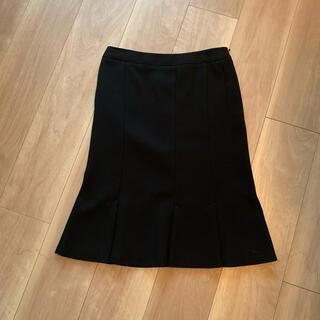 マックスマーラ(Max Mara)のマックスマーラ ホワイトタグ 膝丈スカート 36サイズ 美品(ひざ丈スカート)
