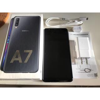 Galaxy - Galaxy A7 本体 ブラック galaxya7