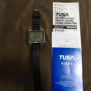 ツサ(TUSA)のTUSA☆ダイビングコンピューターIQ850 美品(マリン/スイミング)