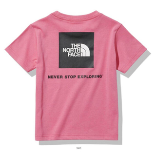 ザノースフェイス(THE NORTH FACE)の新品・タグ付き ノースフェイス 2021ss プリムピンク 半袖Tシャツ 女の子(Tシャツ/カットソー)
