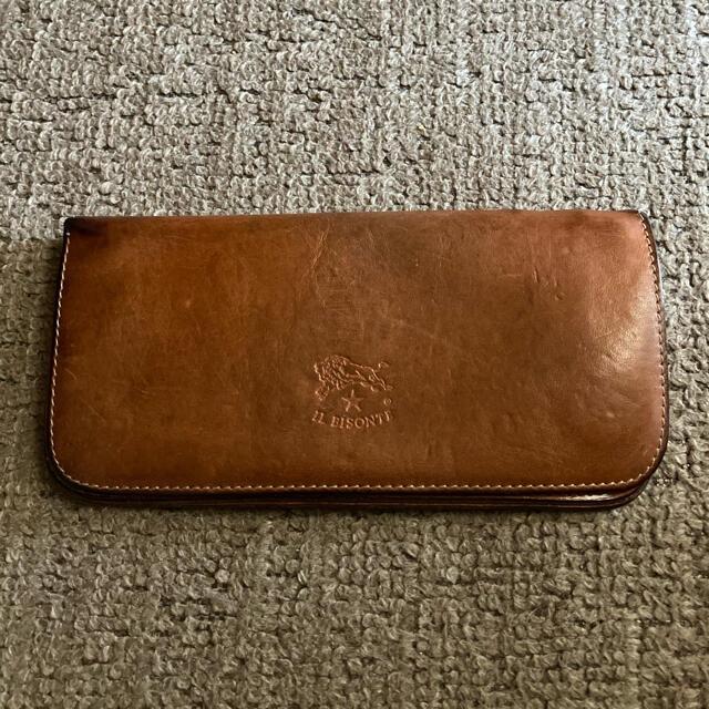 IL BISONTE(イルビゾンテ)のIL BISONTE イルビゾンテ 長財布 ヌメ メンズのファッション小物(長財布)の商品写真