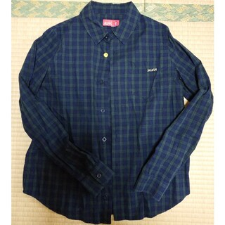 エックスガール(X-girl)のエックスガール チェックシャツ(シャツ/ブラウス(長袖/七分))