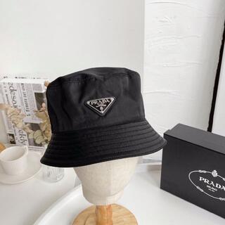 PRADA - PRADA プラダ バケット ナイロン ハット 帽子 キャップ レイン