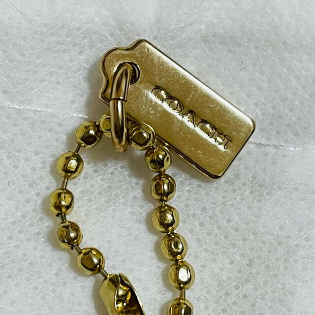 COACH(コーチ)のcoach コーチ 非売品 ノベルティ キーチェーン 袋付き エンタメ/ホビーのコレクション(ノベルティグッズ)の商品写真