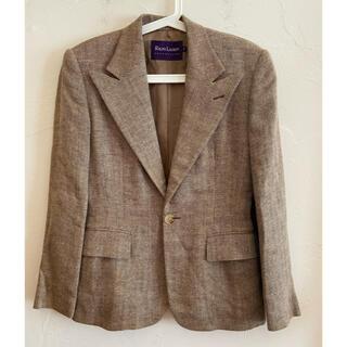 ラルフローレン(Ralph Lauren)のRALPH LAUREN ラルフローレン スカートスーツ セットアップ 麻シルク(スーツ)