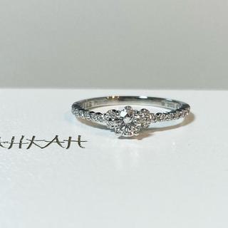AHKAH - 【定価35万円以上】極美品 AHKAH アムール エンゲージ リング Pt900