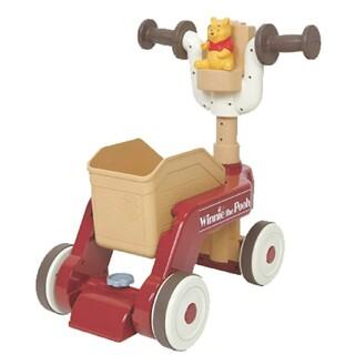 Disney - Disney くまのプーさん おしゃべりウォーカーライダー  手押し車 プルトイ