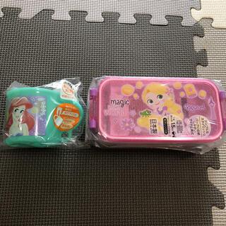 Disney - プリンセス2段ランチボックスとコップセット売り