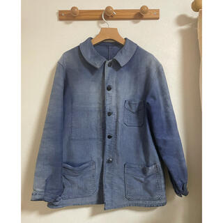 マルタンマルジェラ(Maison Martin Margiela)の40s French vintage Blue moleskin jacket(その他)