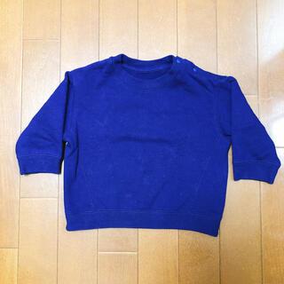 ユニクロ(UNIQLO)のベビー服どんどん出品❣️UNIQLO ユニクロ トレーナー 80サイズ 美品(トレーナー)