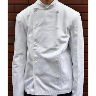 ヨウジヤマモト(Yohji Yamamoto)のdead stock vintage スウェーデン軍 白 コックジャケット (ミリタリージャケット)