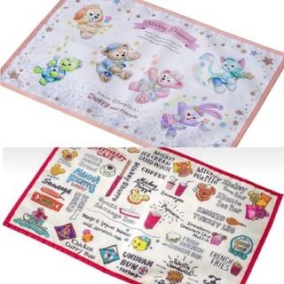 ディズニー(Disney)のディズニー パークフード スーベニアランチョンマット ランチョンマット 2枚(テーブル用品)