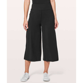 lululemon - Lululemon Blissed Out Culottes 黒