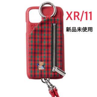 ファミリア(familiar)の【ファミリア×ajew】iPhoneケースXR/11(iPhoneケース)