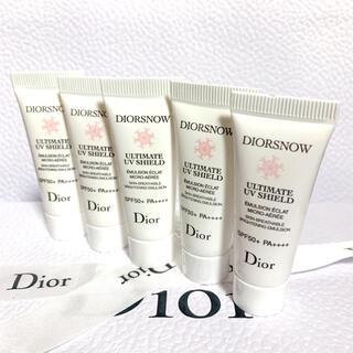 ディオール(Dior)のディオールスノーアルティメット uvシールド 50+  35ml(乳液/ミルク)