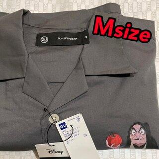 GU - GU アンダーカバー UNDERCOVER オープンカラーシャツ 5分袖