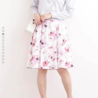 PROPORTION BODY DRESSING - プロポーションボディドレッシング 花柄フレアスカート