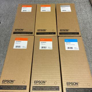 エプソン(EPSON)のEPSON SC9 オレンジ グレー シアン インクカートリッジ 6セット 新品(その他)
