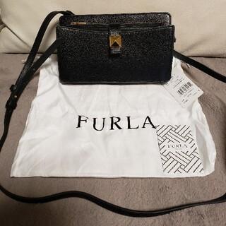 Furla - 半額以下! タグ付き フルラ ショルダーバッグ 財布 ショルダーウォレット 黒