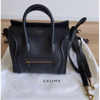 celine - CELINE セリーヌ ラゲージマイクロ ブラック