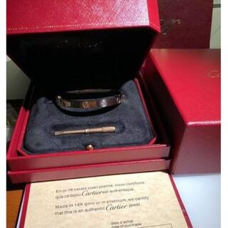 Cartier - 未使用 Cartier カルティエ ラブブレス ピンクゴールド 18