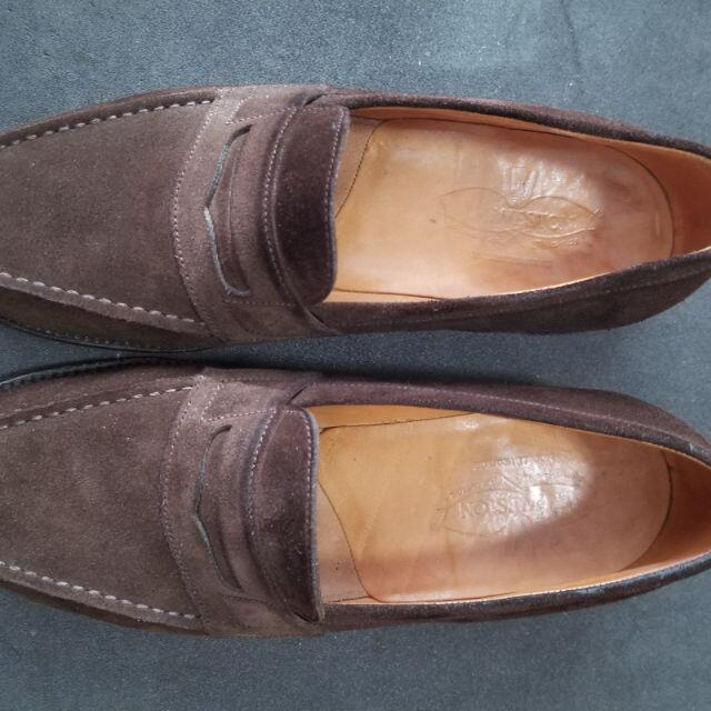 J.M. WESTON(ジェーエムウエストン)のJ.M. WESTON Signature Loafer 180 5.5D メンズの靴/シューズ(ドレス/ビジネス)の商品写真