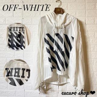 OFF-WHITE - 【激レア★・美品】OFF-WHITE アノラックパーカー ナイロンジャケット♪