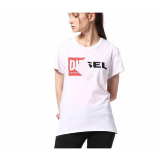 DIESEL - diesel ディーゼル ロゴTシャツ XS